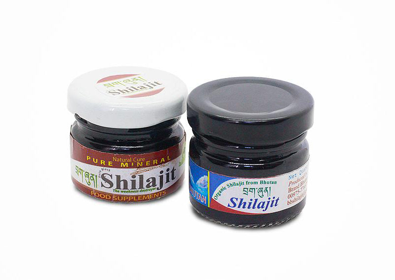 Pure Shilajit from Bhutan