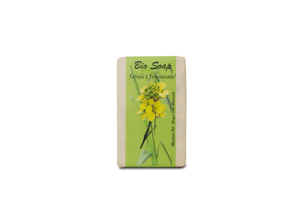 Ginger Bio Soap from Bhutan - Druksell.com