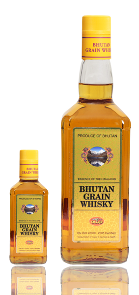 Bhutan Grain Whisky The Most Popular Drink From Bhutan Druksellcom