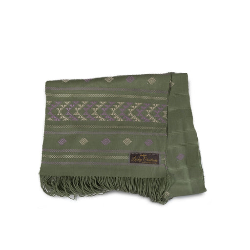 Scarf in traditional (Light Green) (4594010062966)