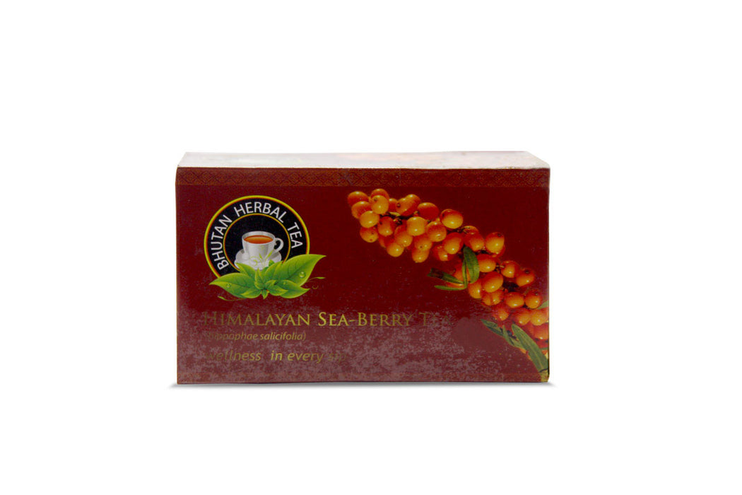 Bhutan sea berry tea or sea buckthorn by Bhutan herbal tea