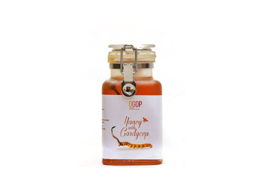 Honey with cordyceps from Bhutan by OGOP Bhutan | Premium products from Bhutan (6102719234217)