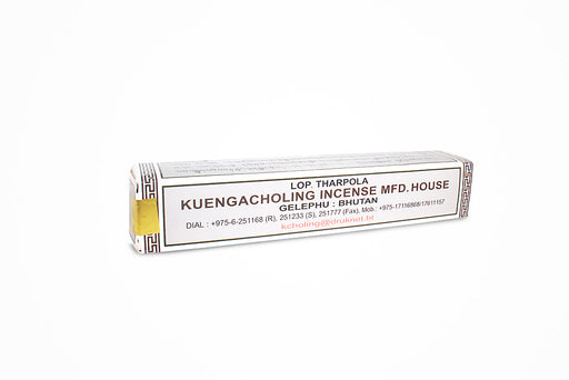 Bhutan Incense sticks by Kuengacholing incense house (chemical free), 38 sticks roll - Druksell.com