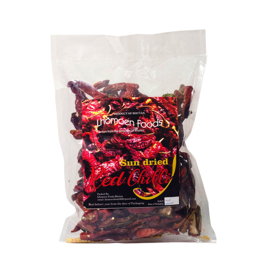 Sun dried red chillies from Bhutan | Druksell