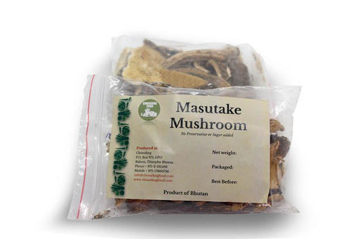 Matsutake mushrooms from Bhutan