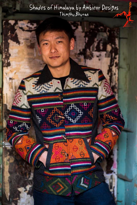 Yathra Jacket from Bumthang - Druksell.com