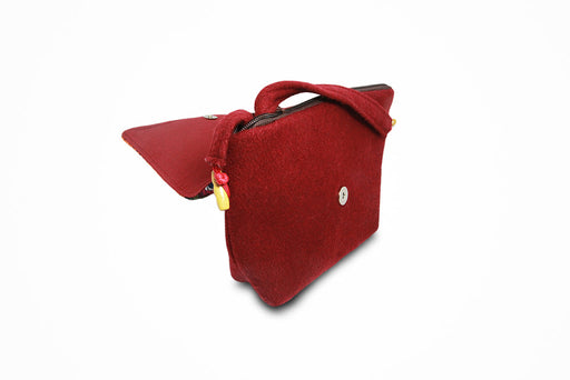 Traditional women red purse (Yathra bag) - Druksell.com