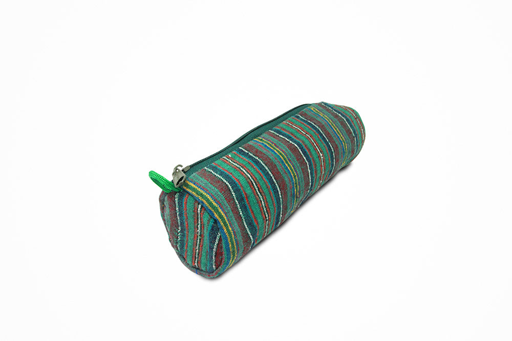 Traditional stationary green pouch