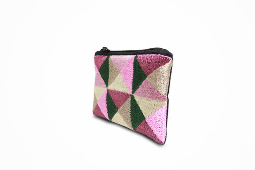 Zip wallet (mix colors pattern)