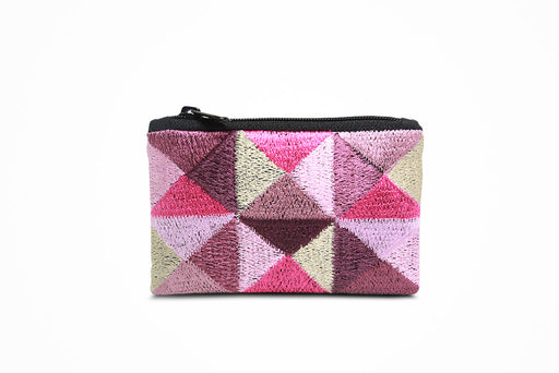 Zip wallet (pink pattern)