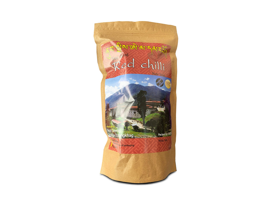 Bhutan Red Chillies - Druksell.com
