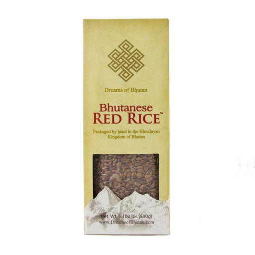 Bhutan Red Rice Food