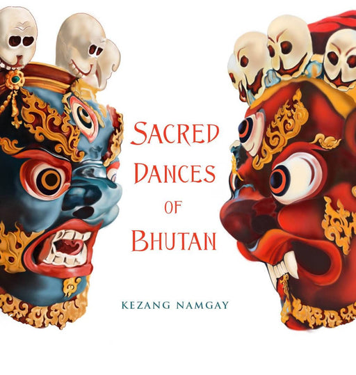 Sacred Dances Of Bhutan Book