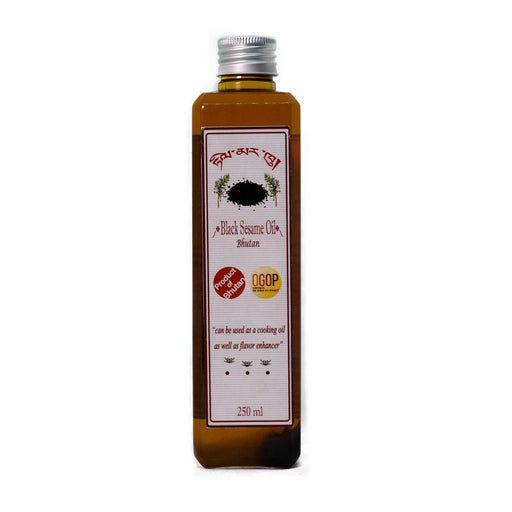 Black sesame oil | Organic and natural oil | Druksell