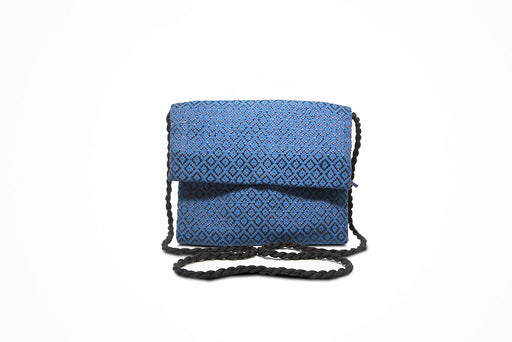 Traditional sling purse (Blue)