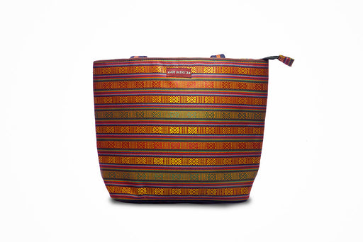 Common striped Sling bag from bhutan - Druksell.com