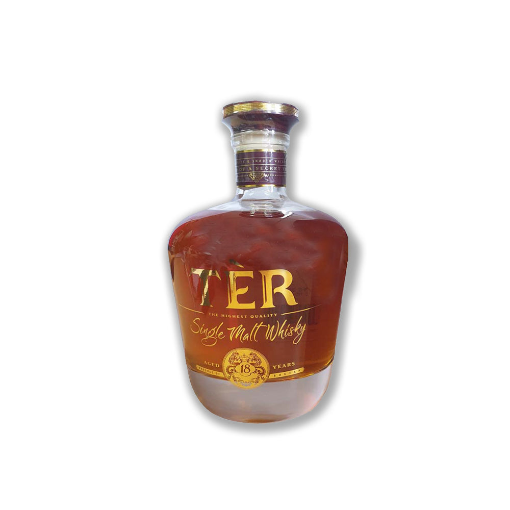 'Ter', a 18 year single malt whiskey.