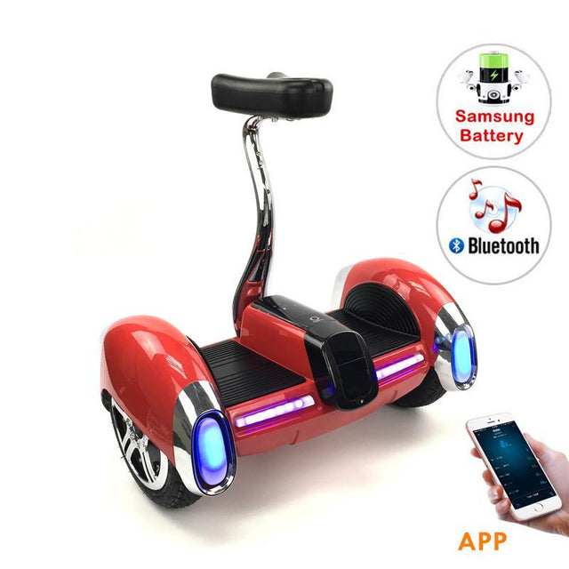 New 2018 Faster Fortune Digital Hoverboards With Bluetooth Speaker & Samsung battery