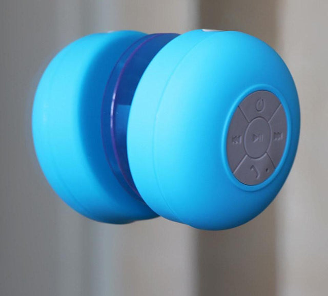Boomin Bluetooth Shower Speaker with Mic for Phone