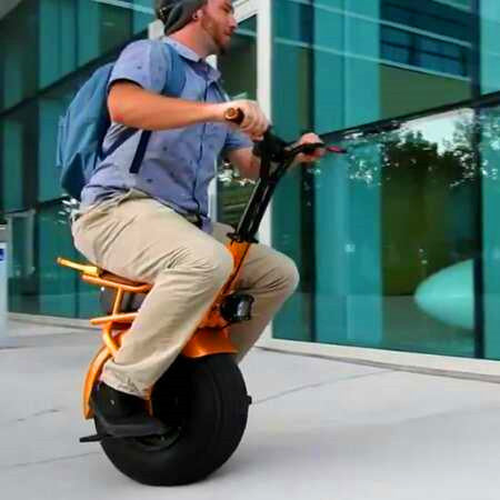 Faster Fortune Rover Smart One Wheel Unicycle Scooter