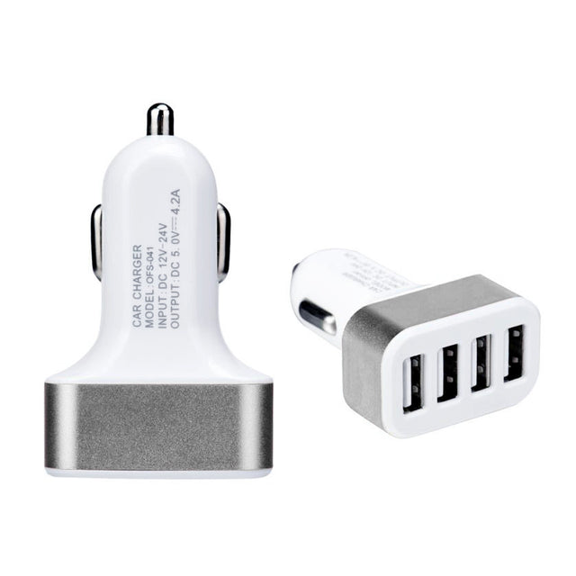 Fortune Digital Universal 4 Port USB DC 5V 4.2A quick Car Charger