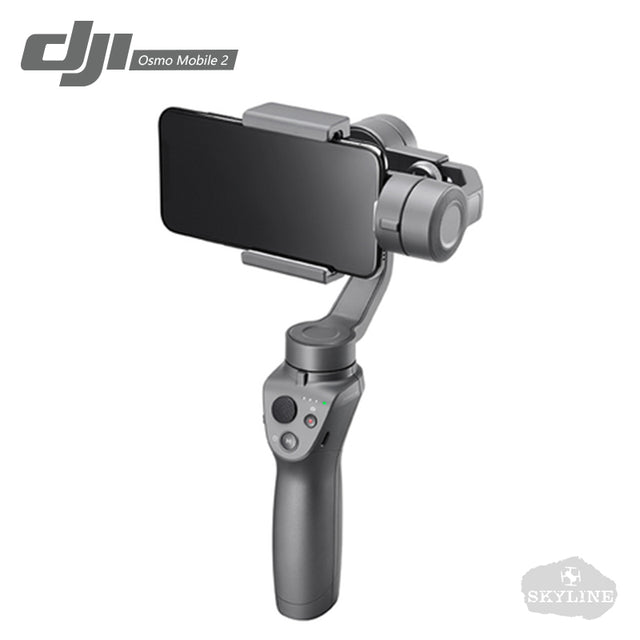 DJI Osmo Mobile 2 Handheld 3-AxisGimbal Stabilizer with Smooth Video/Motion Timelapse / Panorama Functions Suitable for phones