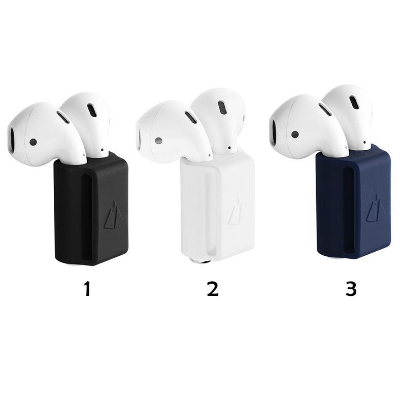 Anti-lost Silicone Holder for AirPods Holder Portable Anti-lost Strap Silicone Case for Apple AirPod Accessories