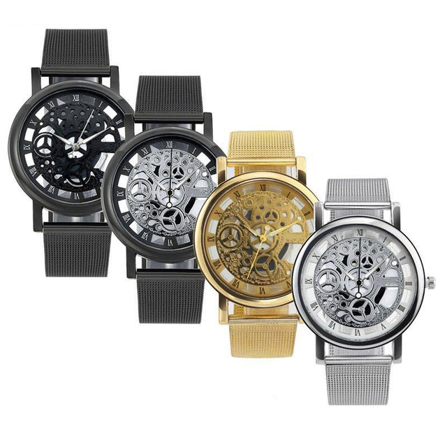 Fortune Digital Unisex Skeleton Watch