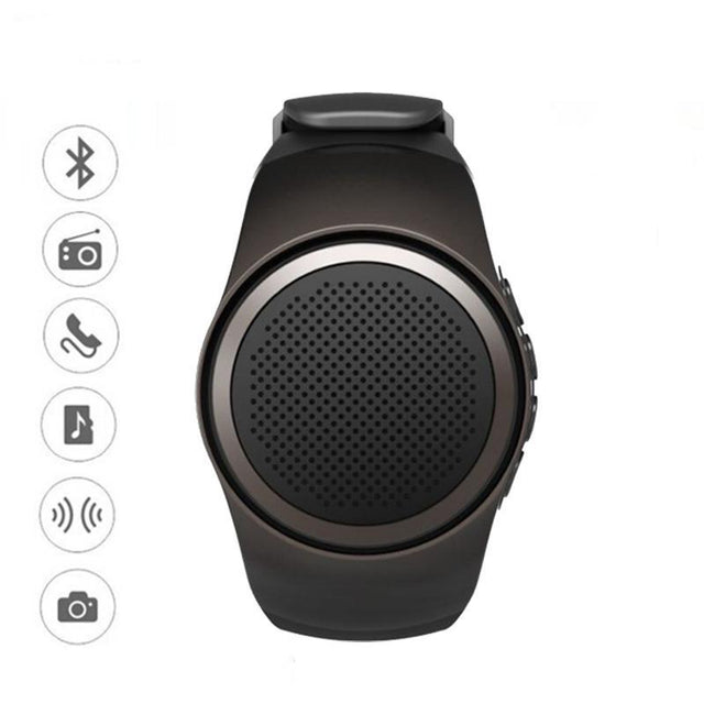 Fortune Digital Smart Watch With Self-timer ,Anti-Lost Alarm ,Music Sport ,Mini Bluetooth Speaker Support + More