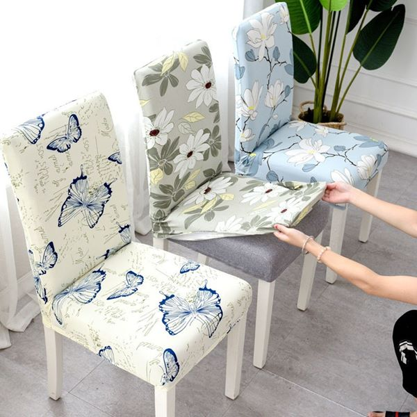 Dining Chair Seat Covers with Universal Fit - 2019