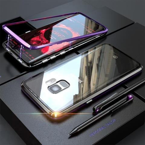 Magnetic Case For Samsung S Series: S10, S9, S8 & Note 8, 9