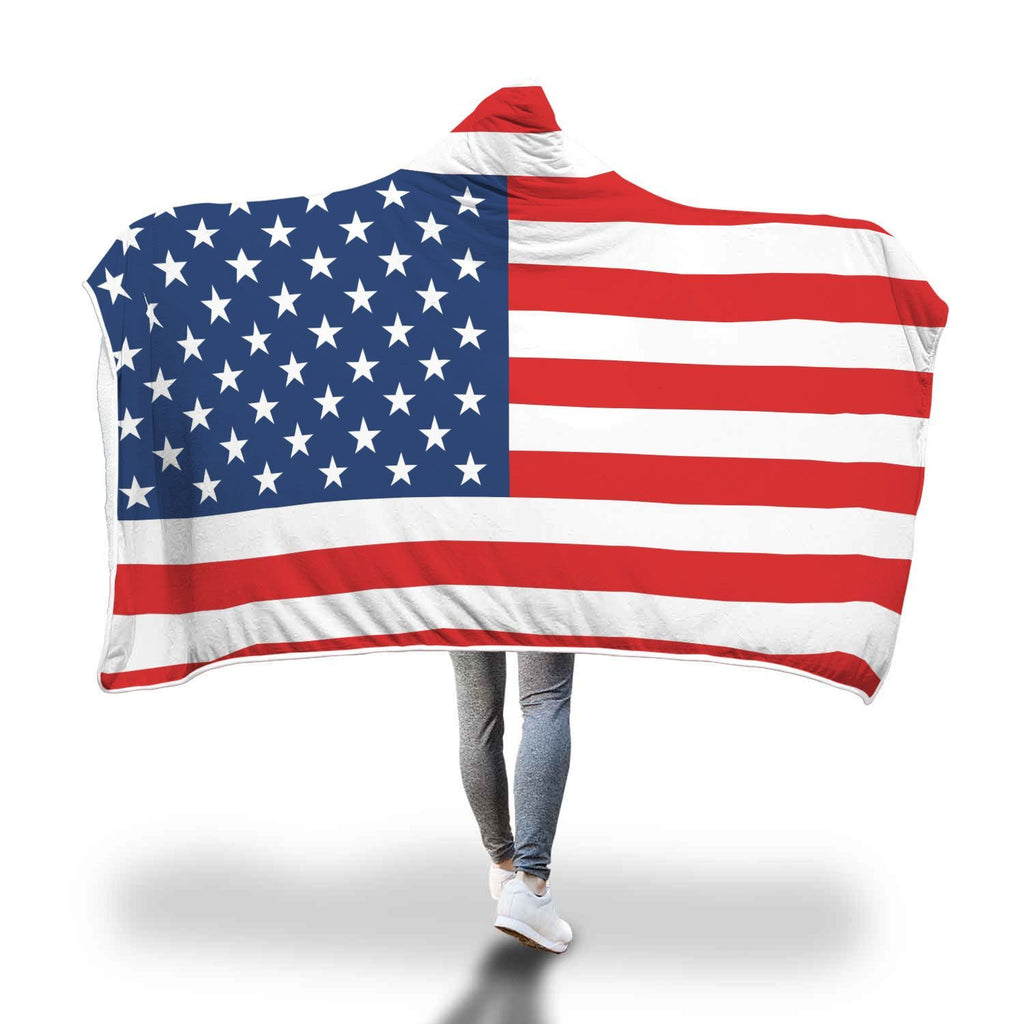 United States Hooded Blanket