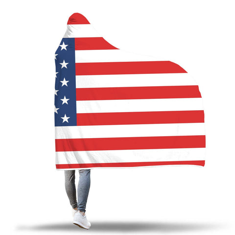 Image of United States Hooded Blanket
