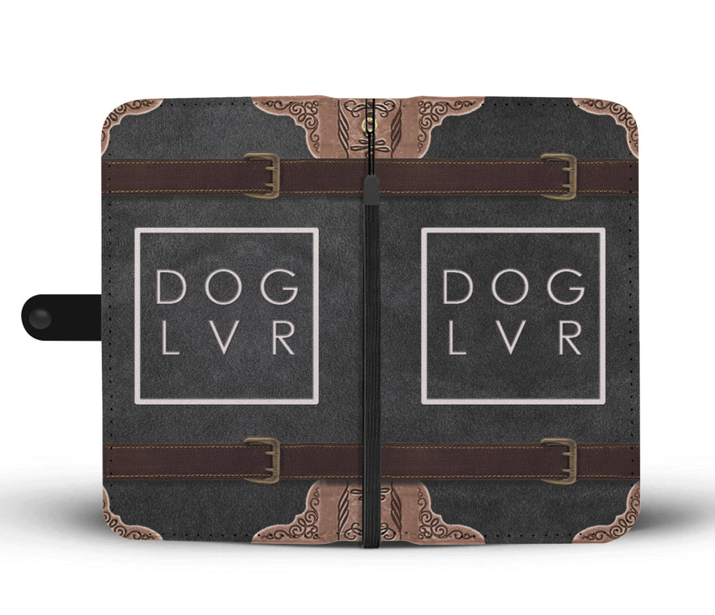 Dog Lover Phone Wallet Case - Perfenq