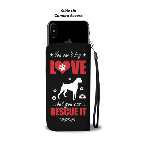 Image of Dog Rescue Phone Wallet Case - Perfenq