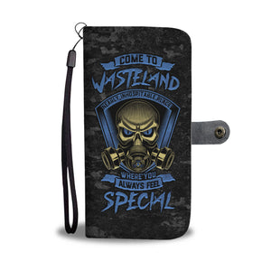 Wasteland Phone Wallet Case - Perfenq