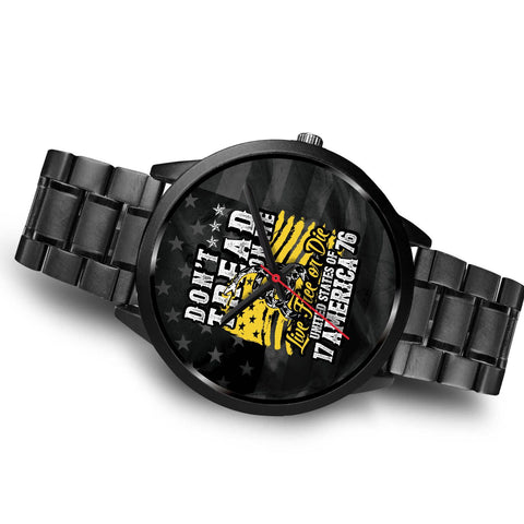 Don't Tread on Me Custom Stainless Steel Watch