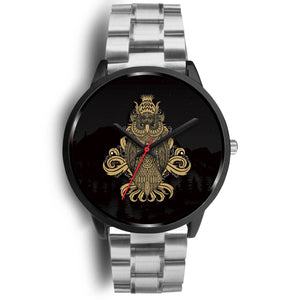 Owl Custom Stainless Steel Watch - Perfenq