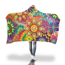 Load image into Gallery viewer, Colorful Custom Designed Hooded Blanket - Perfenq
