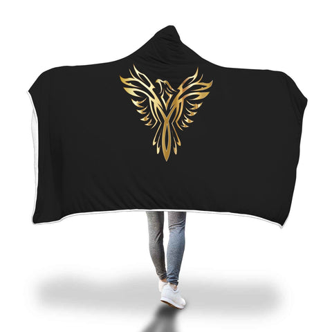 Image of Phoenix Hooded Blanket - Perfenq