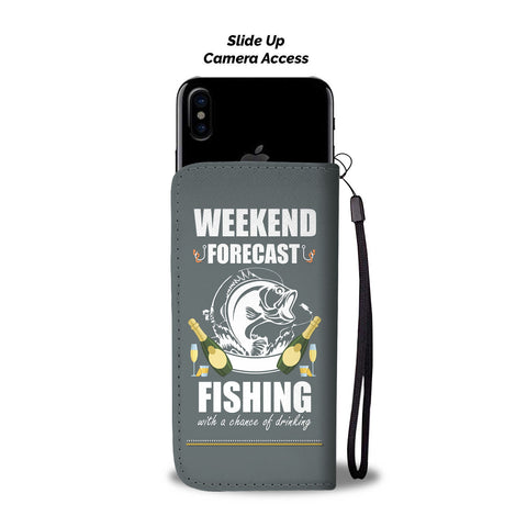 Image of Fishing Lovers Phone Wallet Case - Perfenq