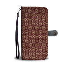 Load image into Gallery viewer, Skull Pattern Phone Wallet Case