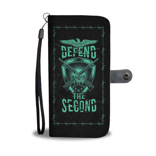 AR15 Defend The Second Phone Wallet Case - Perfenq