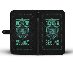 AR15 Defend The Second Phone Wallet Case