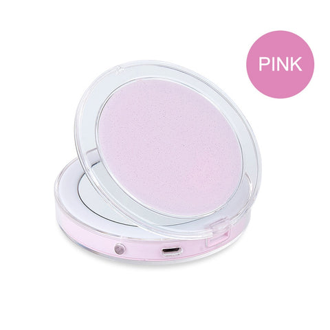 LED Light Portable Makeup Mirror with Sensors - Perfenq
