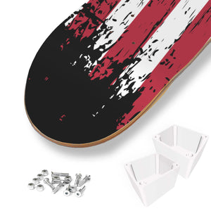 USA 3 Skateboard Wall Art - Perfenq