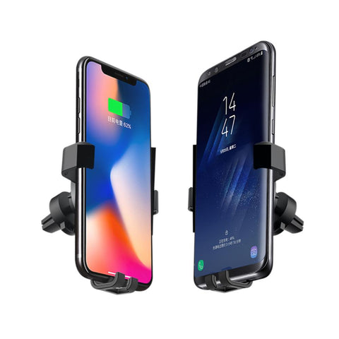Image of Qi Fast Wireless Charger Car Mount (Top-Selling)