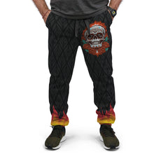 Load image into Gallery viewer, Skull Fire Custom Designed Joggers - Perfenq