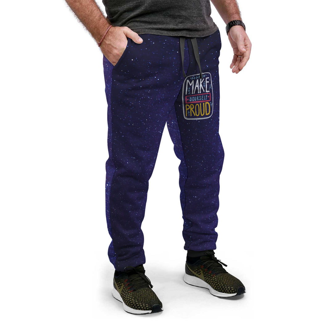 Purple Sky Custom Designed Joggers - Perfenq