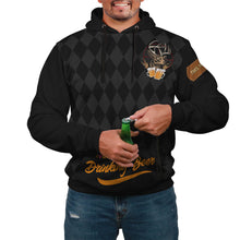 Load image into Gallery viewer, Drinking Beer Custom Designed Hoodie - Perfenq